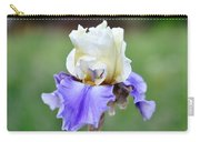 Up Close Elegant Iris Carry-all Pouch