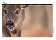 Up Close White Tail Carry-all Pouch