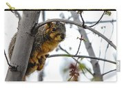 Up The Tree Carry-all Pouch by Robert Bales