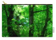 Up Through The Trees Carry-all Pouch