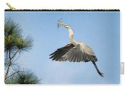 Up To The Nest Carry-all Pouch by Deborah Benoit