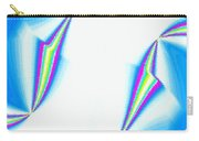 Upbeat Abstract Oval Carry-all Pouch
