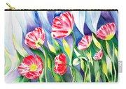 Upcoming Wind Poppy Field Carry-all Pouch by Irina Sztukowski