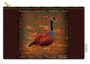 Uplifting Messaged Art Carry-all Pouch