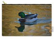 Upon Sunset Waters Carry-all Pouch