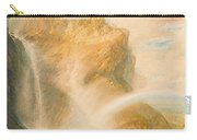 Upper Fall Of The Reichenbach - Rainbow Carry-all Pouch