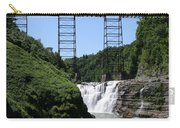 Upper Falls Of The Genesee River  Carry-all Pouch