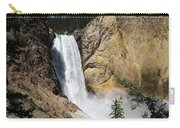 Upper Falls Yellowstone National Park Carry-all Pouch