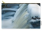 Upper Most Part Of Bond Falls Carry-all Pouch