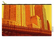 Upper West Side And Hudson River Manhattan Carry-all Pouch