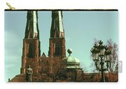 Uppsala Cathedral Steeples Carry-all Pouch