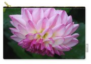 Upside Down Wind Blown Dahlia Carry-all Pouch