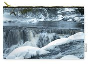 Upstream At Bond Falls Carry-all Pouch