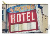Chicago's Irving Hotel Carry-all Pouch
