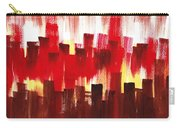 Urban Abstract Evening Lights Carry-all Pouch