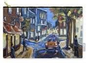 Urban Avenue By Prankearts Carry-all Pouch by Richard T Pranke