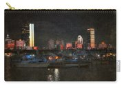 Urban Boston Skyline Carry-all Pouch