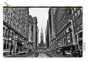 Urban Canyon - Philadelphia City Hall Carry-all Pouch by Bill Cannon