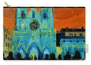 Urban Story - The Festival Of Lights In Lyon Carry-all Pouch