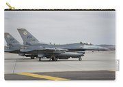 U.s. Air Force F-16c Planes Undergo Carry-all Pouch