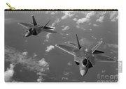 U.s. Air Force F-22 Raptors In Flight Near Guam. Carry-all Pouch