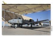U.s. Air Force Pilot Performs Final Carry-all Pouch
