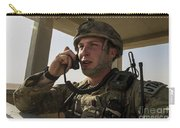 U.s. Air Force Soldier Communicates Carry-all Pouch