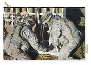 U.s. Army Europe Soldiers Perform Carry-all Pouch