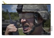 U.s. Army Sergeant Testing Carry-all Pouch