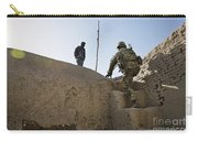 U.s. Army Soldier Climbs Stairs Carry-all Pouch