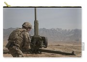 U.s. Army Soldier Fires A 122mm Carry-all Pouch