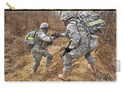 U.s. Army Soldiers Helps A Fellow Carry-all Pouch