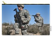 U.s. Army Soldiers Scan The Terrain Carry-all Pouch