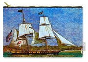 Us Brig Niagra Texture Overlay Carry-all Pouch