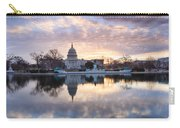 Washington Dc Us Capitol Building At Sunrise Carry-all Pouch