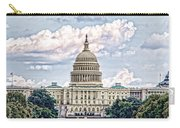 Us Capitol Building Carry-all Pouch