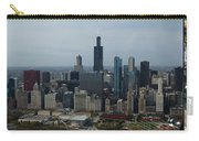 Us Cellular And Wrigley Field Chicago Baseball Parks 3 Panel Composite 02 Carry-all Pouch