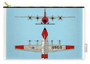 Coast Guard Hc-130 B Hercules Carry-all Pouch