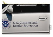 U.s. Customs And Border Protection Carry-all Pouch by Tikvah's Hope