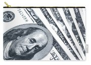 Us Dollar Bills  Carry-all Pouch