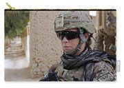U.s. Navy Soldier At Farah City Carry-all Pouch
