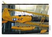 U.s. Navy Yellow Peril Float Biplane Carry-all Pouch