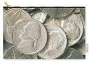U.s. Nickels Carry-all Pouch