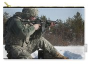 U.s. Soldier Fires His M4a3 Carbine Carry-all Pouch