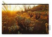 Usa, Arizona, Sonoran Desert, Ocotillo Carry-all Pouch