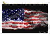 Usa Flag Smoke  Carry-all Pouch