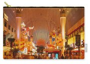 Usa, Nevada, Las Vegas, Night Carry-all Pouch