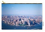 Usa, New York, Lower Manhattan, Aerial Carry-all Pouch