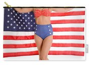 Usa Pinup Girl Carry-all Pouch