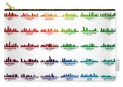 Usa Skylines Carry-all Pouch